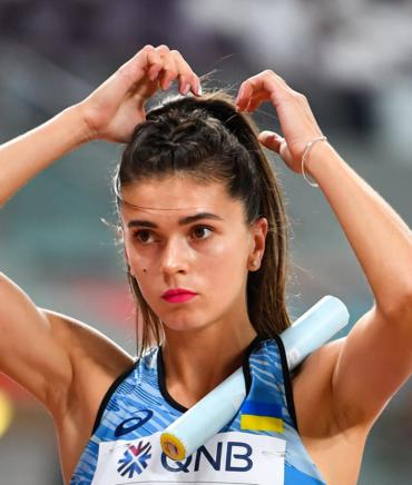 Катерина Климюк - легкая атлетика