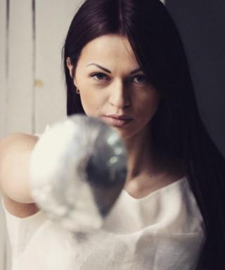 Елена Кравацкая - спорт, фехтование