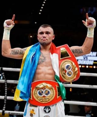 Максим Продан - боксер