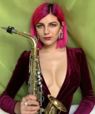 Анастасия Гудзь (Gudz) - саксафонистка