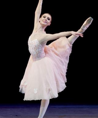 Ольга Голица балерина